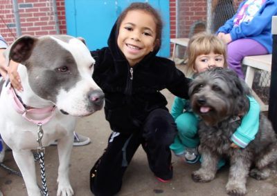 SAVE girls with dogs spay day